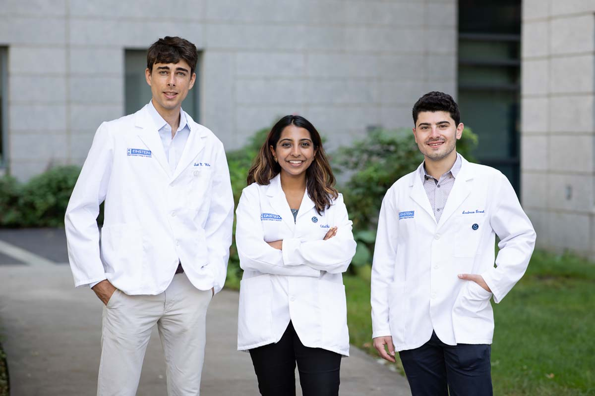 Einstein Students Place 2nd in Global Health Competition